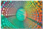 Poster Psychedelic Trippy Colorful Ttrippy Surreal Abstract Astral Art Print 25