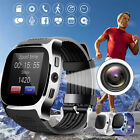 bluetooth Smart Watch Phone Mate SIM FM Pedometer For Android IOS iPhone Samsung