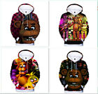 Anime Five Nights at Freddy's 3D Printing Children's Hoodies Set Head Clothing