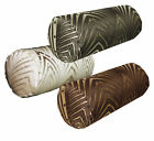 hj -BOLSTER*COVER*Metallic Peacock Ace Long tube neck Roll Yoga Case Custom Size