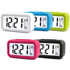 Battery Operated LCD Display Digital Electronic Alarm Clock For Kid Gifts Snooze