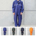 Safe Motorcycle Rain Suit Raincoat Overalls Waterproof Men Fashion Work Outdoor $28.99 USD on eBay