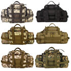 Tactical Waist Pack Military Molle Fanny Assault Hiking Camping Bags with Belt