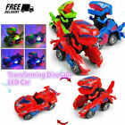 Transformer LED Music Car Dinosaur deformation Car Electric Toy Children's Gifts