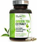 EGCG Green Tea Extract 1000mg Capsules Natural Fat Burn & Weight Loss Supplement