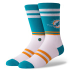 Miami Dolphins Stance Socks - Size M or L - Brand New! Free Shipping! $12.99 USD on eBay