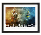Limited Edition 2019 GB Packers Aaron Rogers Custom Print - Ships Free!
