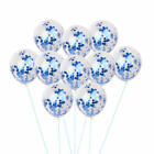 12 Pack Confetti Balloons Latex 12