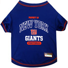 New York Giants Football Dog Shirt - SMALL - Property of - Official NFL - NWT $11.99 USD on eBay