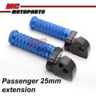 CNC 25mm Extension Rear Foot Pegs For Triumph Bonneville SE T100 America Carb $38.88 USD on eBay
