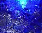 Stained Glass Sheets-Blue Rondalite Kokomo Glass-Various sizes