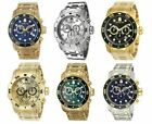 Invicta Men's Pro Diver Quartz 200m Chronograph Stainless Steel Watch  0071-0075 image