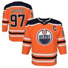 Connor McDavid Edmonton Oilers #97 YOUTH NHL Premier Hockey Boys Jersey $74.99 USD on eBay