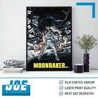 1979 MOONRAKER (007) - Movie Film Poster - A3 A4 A5 Laser Print £5.85 GBP on eBay