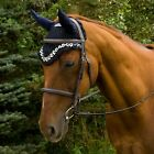 Equine Couture Floral Fly Bonnet                                             ...