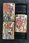 ZIPPO LIGHTER SET MYSTERIES OF THE FOREST image