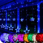 2m Star Curtain Led String Fairy Lights Christmas Home Party Wedding Decoration