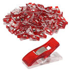 50/100pcs Plastic Wonder Edge Clips For Fabric Quilting Craft Sewing Knitting