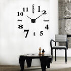Fashion Large DIY Wall Creative English Number Novelty Clock Retro Home Decor