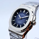 Nautilus Steel Bagelsport Classic Automatic Mechanical Time/Date Mens Watch New image
