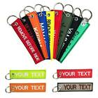 Custom Embroidered Removable Keychain Mountaineering Bike Keychain Personalised