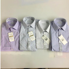 Haggar J.M Men's Premium Performance Classic Fit Dress Shirt Size&Color:VRYT NWT
