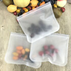 6/10Pcs Reusable Food Storage Bags Zip Top Leakproof Containers Kitchen Supplies