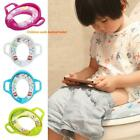 Plastic Baby Potty Toilet Seat Ring Girl Trainer with Armrests Kid Supplies Tool image