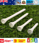 White Wood / WOODEN GOLF TEES Various Sizes - AU Stock - Fast Dispatch