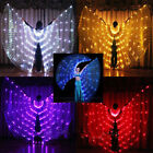 LED isis Wings Glow Light up Belly Dance Club Costumes Performance Clothing