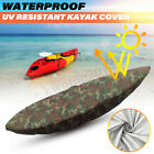 3/5/5.6/6m Kayak Waterproof Camo Cover Fishing Canoe Cover UV Sun Protector