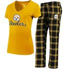 Pittsburgh Steelers Pajamas Troupe Shirt And Pants Sleepwear 2-Piece Set $44.95 USD on eBay