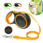 3M/5M Retractable Dog Lead Extending Reflective Austomatic Puppy Walking Leads