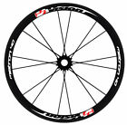 Vision Metron 40 style wheel decals stickers for 40mm 700c road wheels disc