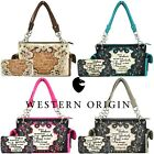 Scripture Bible Verse Western Purse Country Handbag Women Shoulder Bag / Wallet