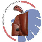 NAA 22 Mag 1 1/8 or 1 5/8 Leather Pocket Holster & Ammo Pouch
