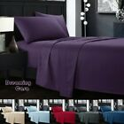 KING SIZE SHEETS 1800 Count 4 Piece Deep Pocket Bed Sheet Set King Queen Size 8R image