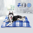 Soft Dog Bed Crate Pad Washable Removable Cover Dog Mattress for Large Dogs Cats