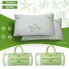 Memory Foam Pillows Bamboo King&Queen Size Hypoallergenic w/Carry Bag US image