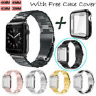 Stainless Steel iWatch Band Wrist Strap For Apple Watch Series 4/5 40mm 44mm image