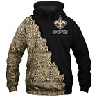New Orleans Saints Hoodie Hooded Pullover Sweatshirt S-5XL Football Team Fans $38.85 CAD on eBay