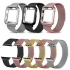 Magnetic Milanese Loop Band Stainless Steel Strap For Apple Watch Series 5 4 3 2 image
