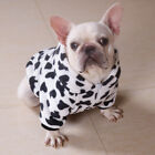 Soft Hoodie Dog Coat Flannel Dog Pajamas Puppy Winter Clothes Jacket Costume