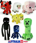 Minecraft Animal Plush Toys Stuffed Animals Soft Toy Plushies For Kids Gifts AU
