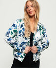 Superdry Womens Super Luxe Print Bomber Jacket