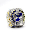 DELUXE (15% LARGER)  - St.Louis Blues Stanley Cup Replica Ring - Ships from STL $19.67 USD on eBay