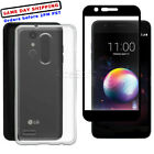Tempered Glass Screen Protector or Back Case for LG Premier Pro LTE L414DL Phone