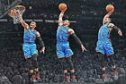 60839 Russell Westbrook OKLAHOMA CITY THUNDER Basket Wall Print POSTER CA on eBay