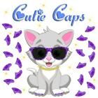 Cutie Caps 40 pack Purple Prism Glitter Soft Nail Guard for Cat Paws / Claws