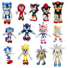 "8 13"" Sonic the Hedgehog Series Miles Knuckles Plush Doll Xmas Gift"